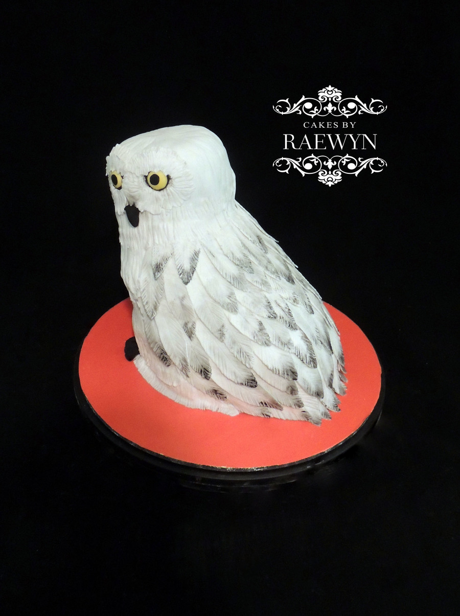 Hedwig The Owl From Harry Potter Cakecentral Com