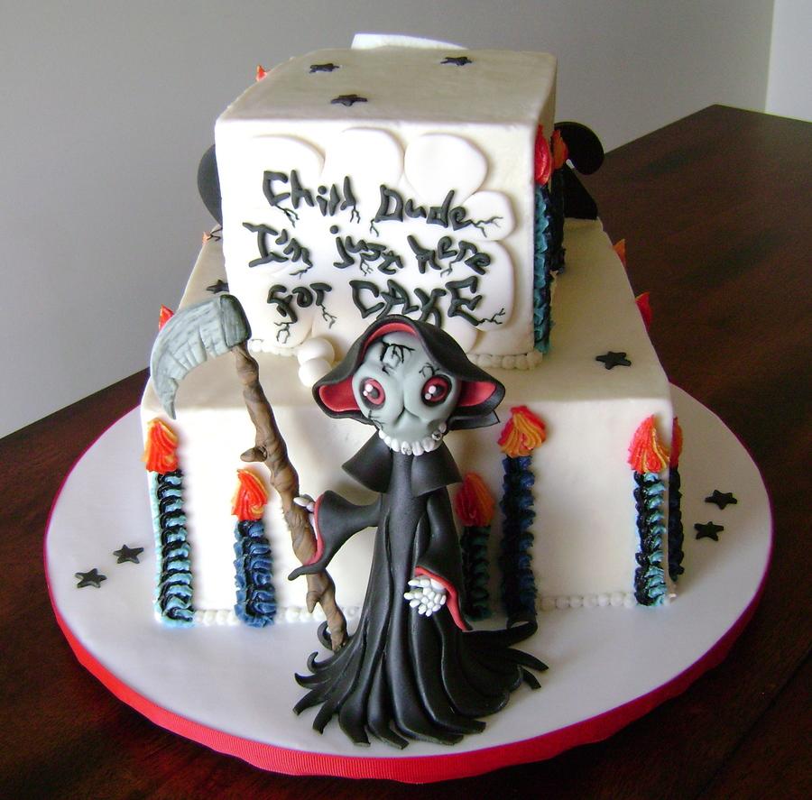 Grim Reaper Bday Cakecentral Com