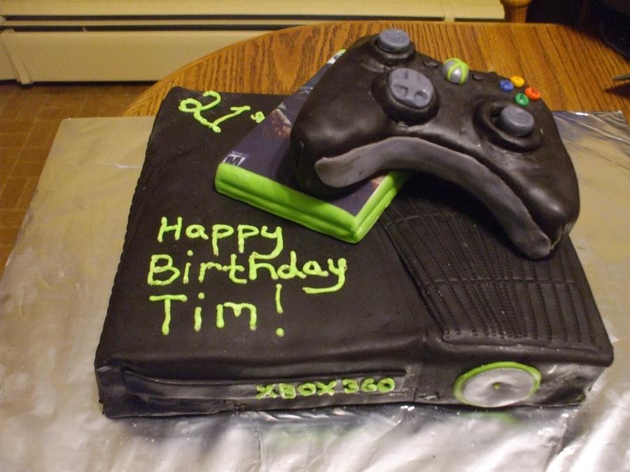 Xbox Birthday Cake Cakecentral Com