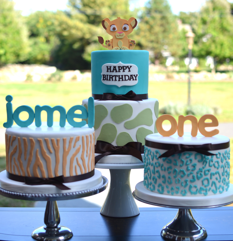 Lion King Themed First Birthday Cakes Cakecentral Com