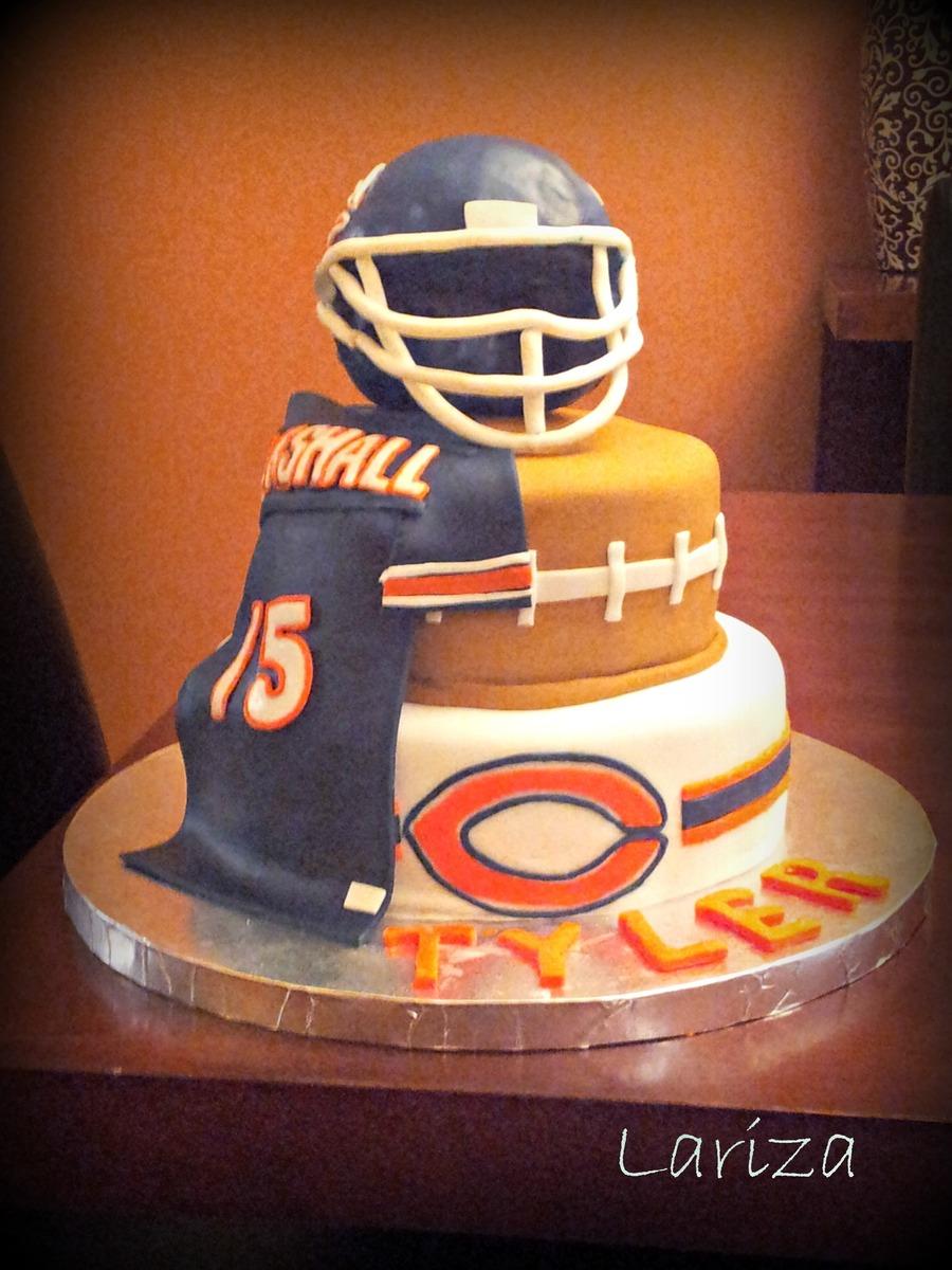 Chicago Bears Cake Cakecentral Com