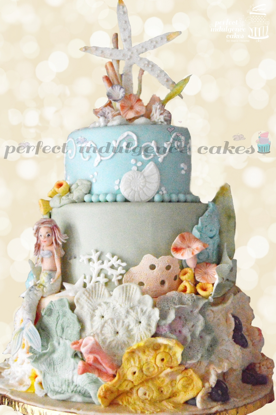 Under The Sea Birthday Cake Inspired By The Magic Of The