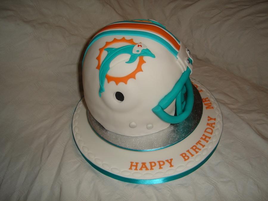 Miami Dolphins Cakecentral Com