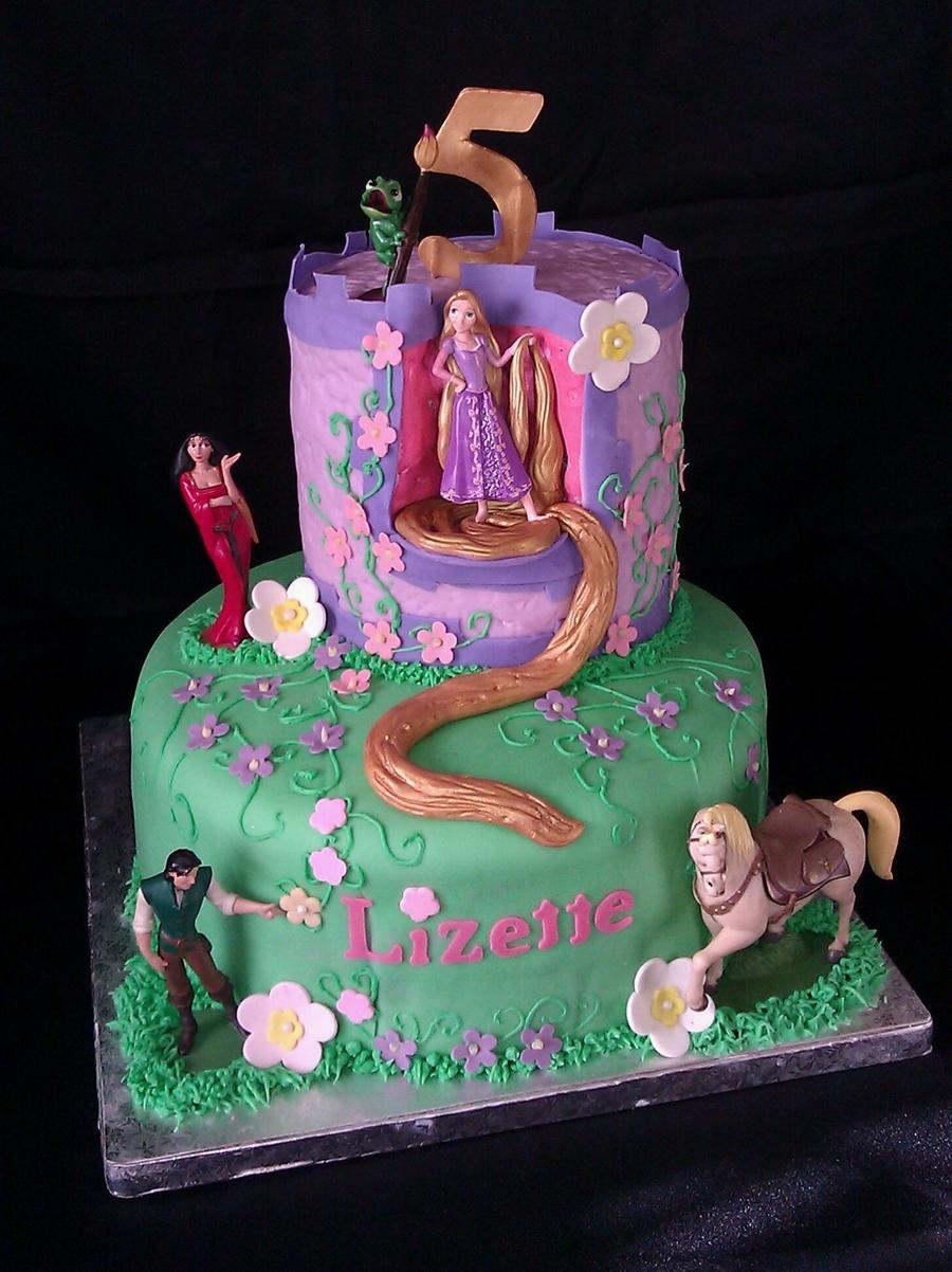 Tangled Rapunzel Cake Cakecentral Com