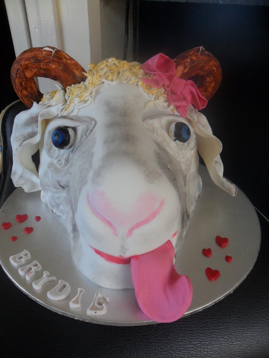 Goat Cake Cakecentral Com