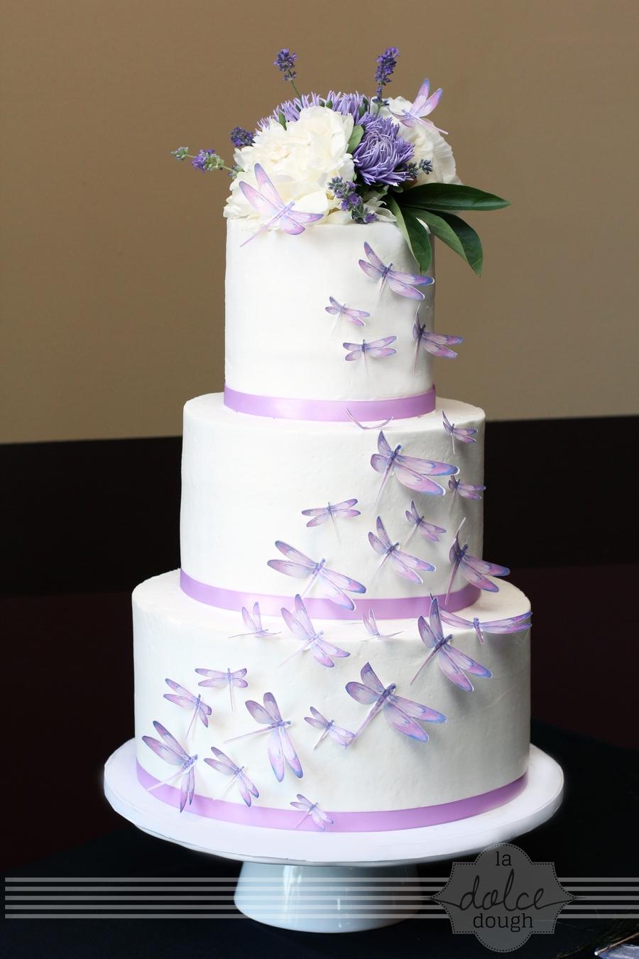 Dragonfly Wedding Cake Cakecentral Com