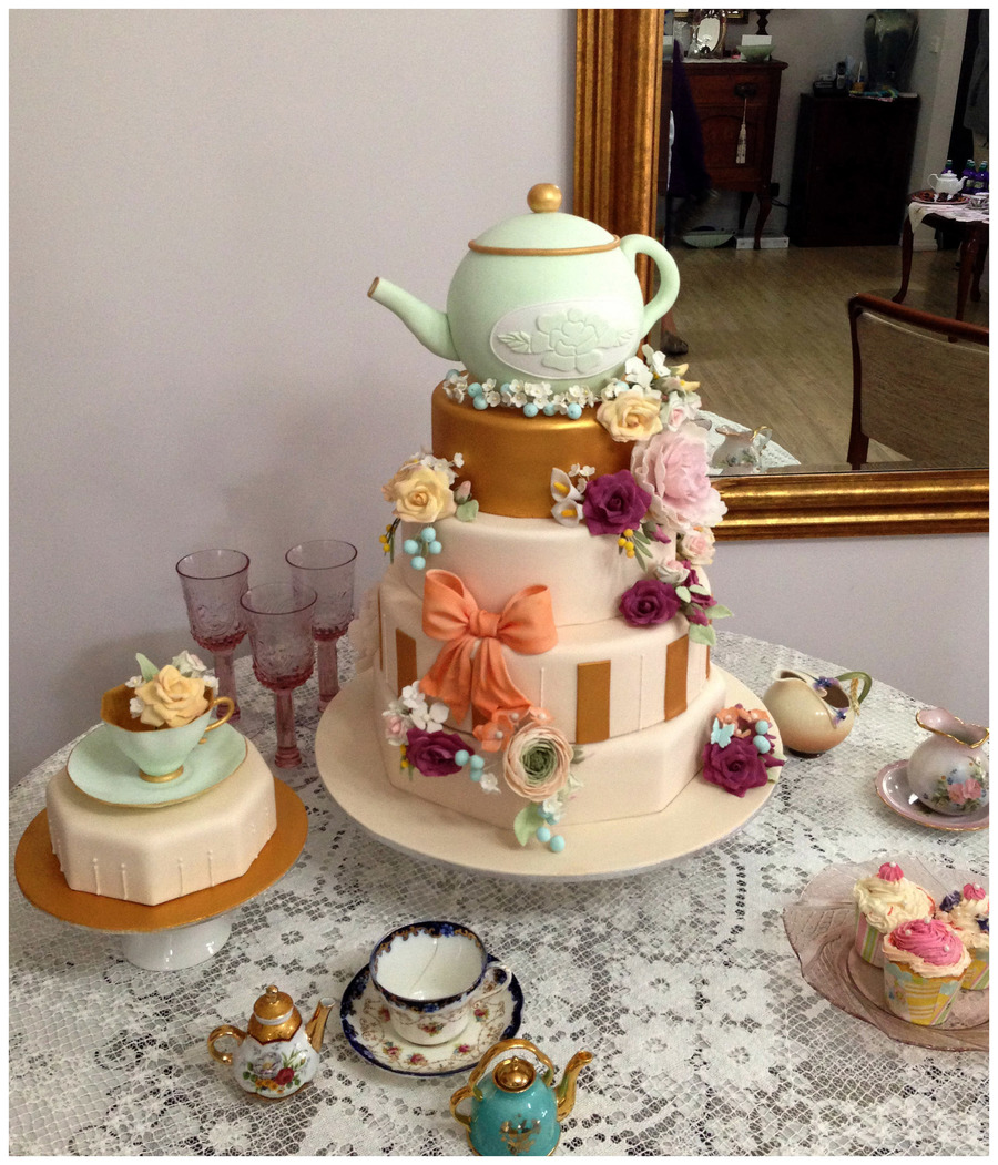 High Tea Birthday Cakecentral Com