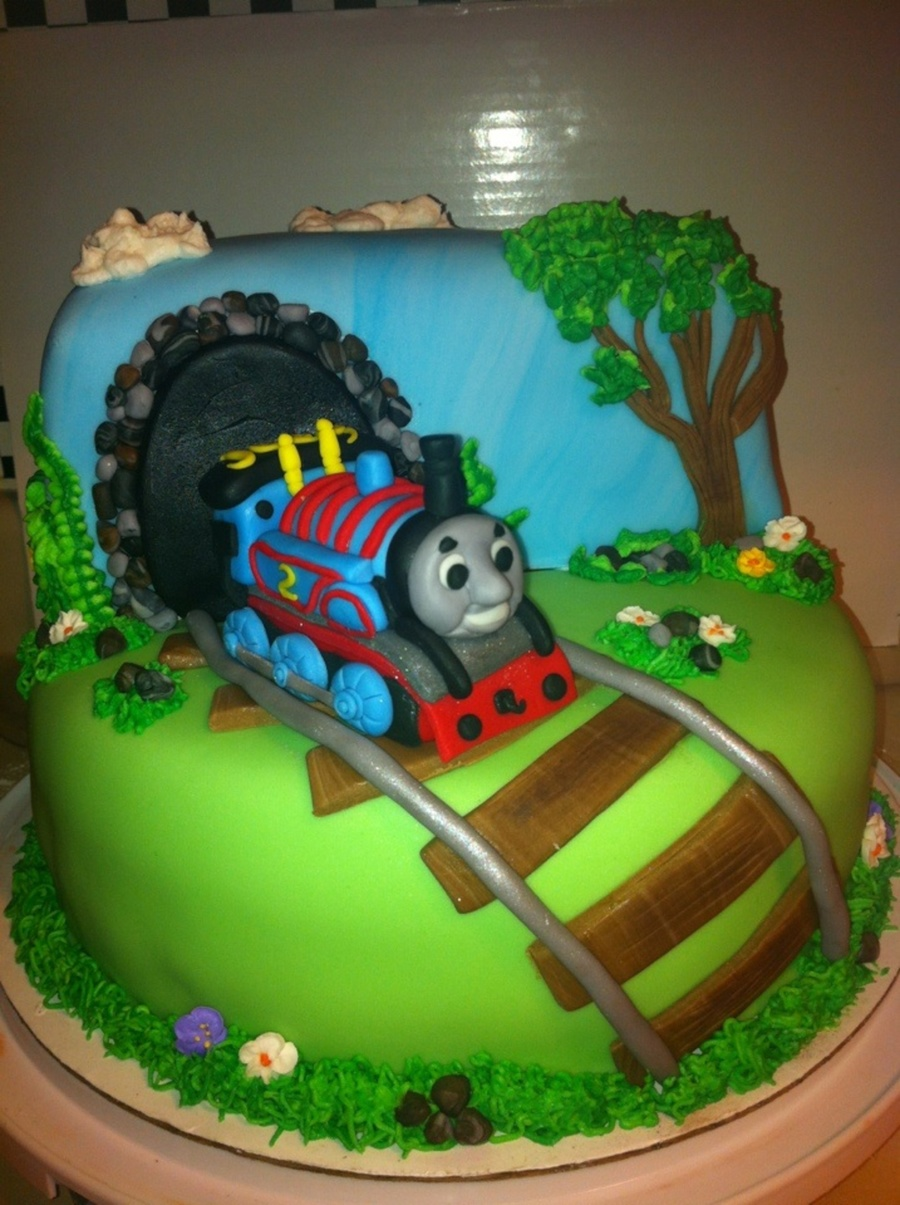 Thomas The Train Cake Cakecentral Com