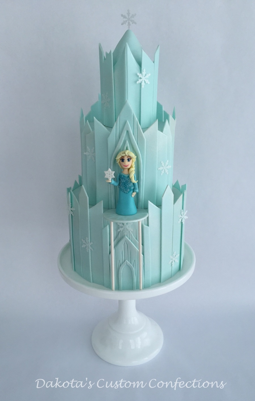 Frozen Castle Cake Cakecentral Com