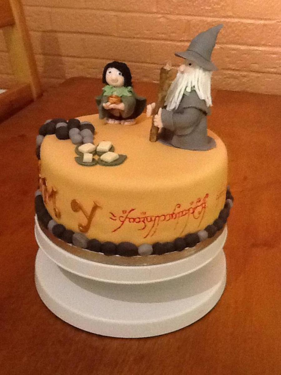 Lord Of The Rings Birthday Cake Cakecentral Com