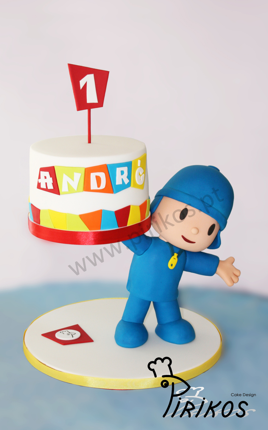 Pocoyo Delivers A Cake Cupcakes Push Up Cakes And