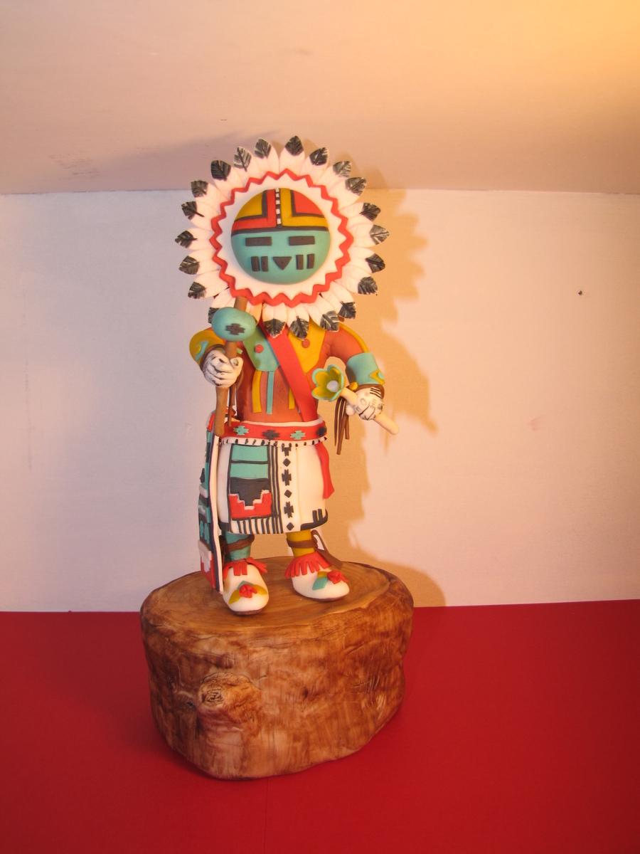 Native American Kachina Doll Cake For My Cherokee Birthday