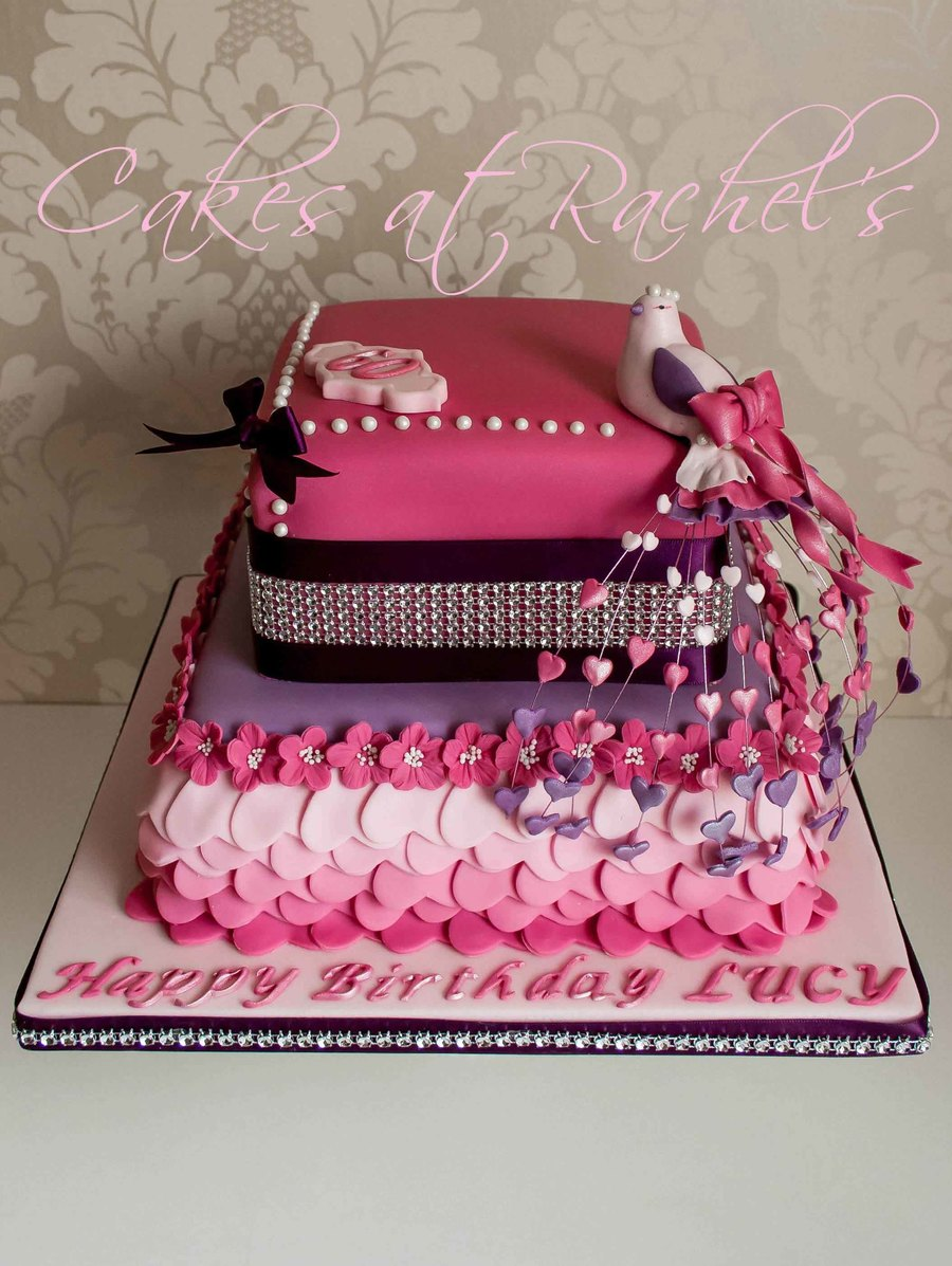 Bird Of Paradise 60th Birthday Cake Cakecentral Com