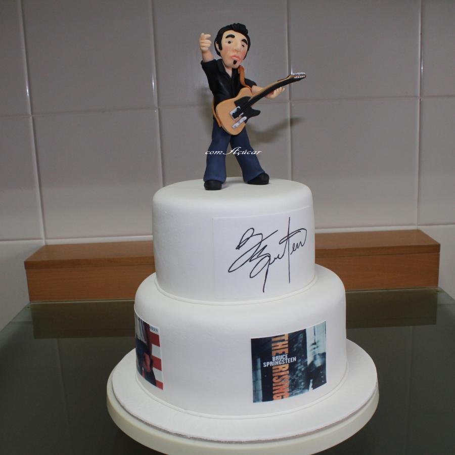 Bruce Springsteen Cake Cakecentral Com