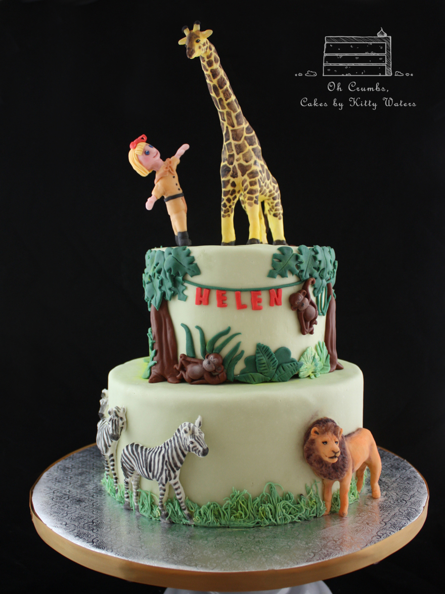 Zoo Birthday Cake Cakecentral Com