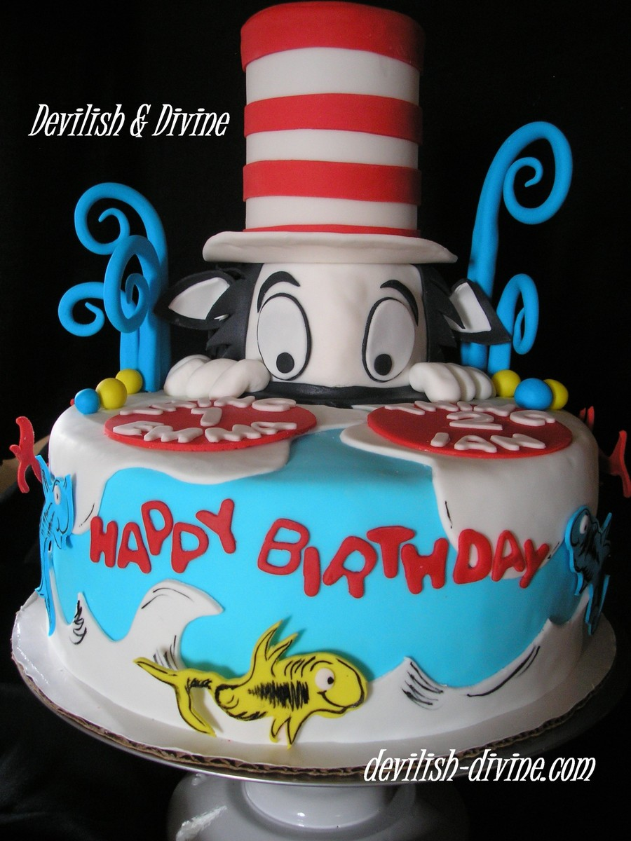 A Dr Seuss Theme For A Double Birthday Boy And Girl Very