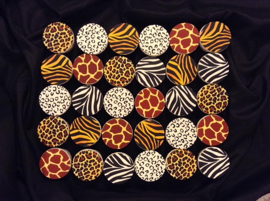Safari Theme Cupcakes Cakecentral Com