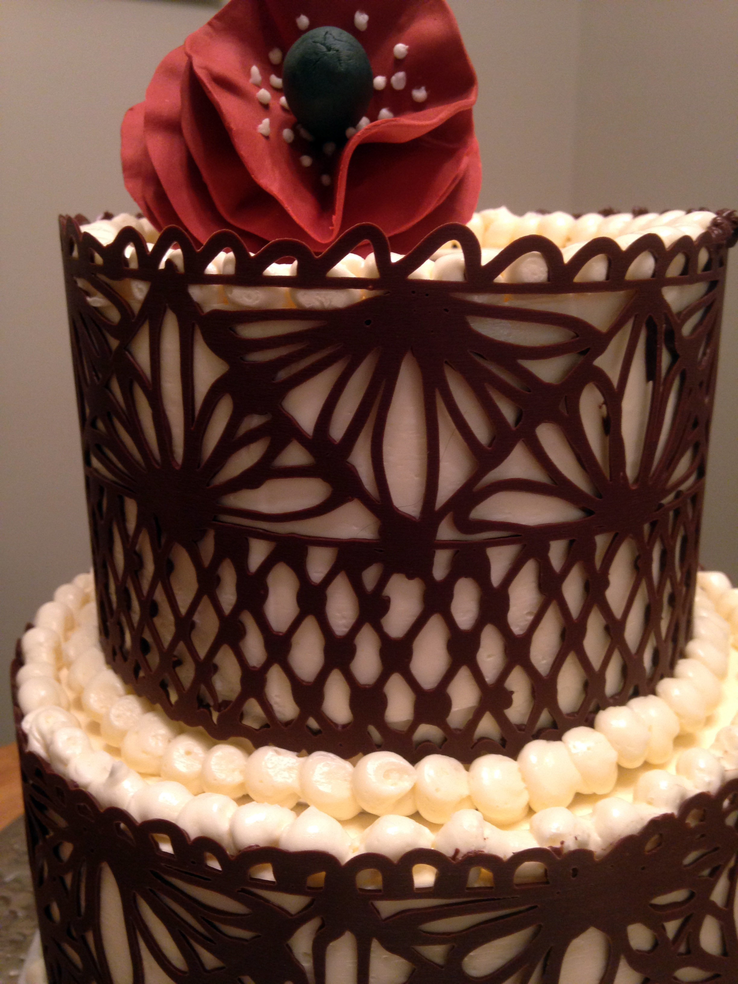 Chocolate Lace Cakecentral Com