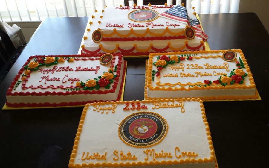 Marine Corps 238th Birthday Cakecentral Com