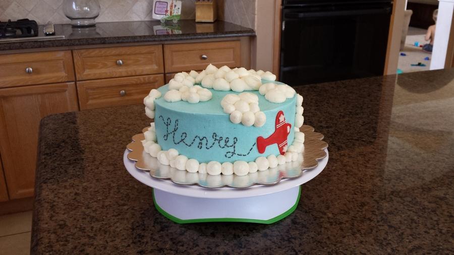 1st Birthday Airplane Cake Cakecentral Com