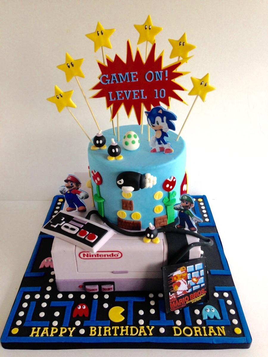 Video Games Cakecentral Com