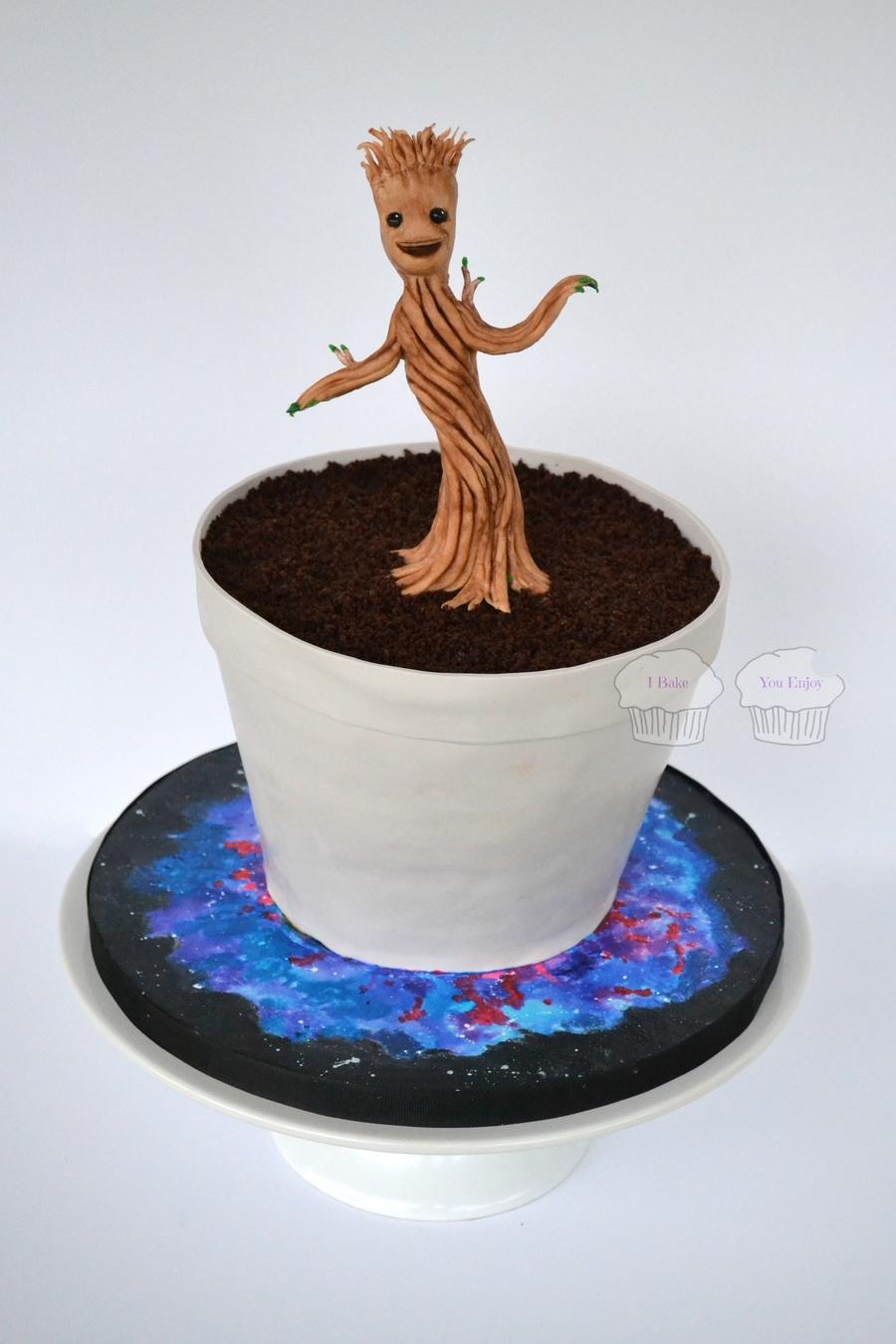 Dancing Little Groot Cakecentral Com