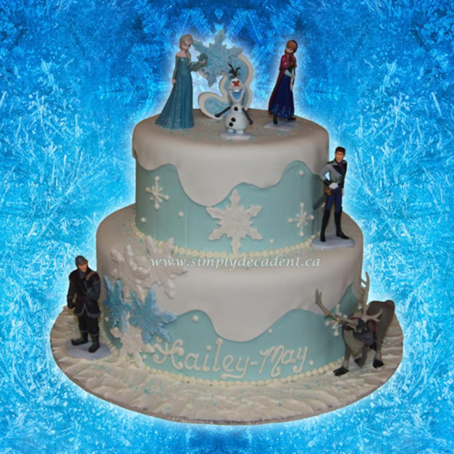Disney Frozen Birthday Cakes The Best Cake Of 2018
