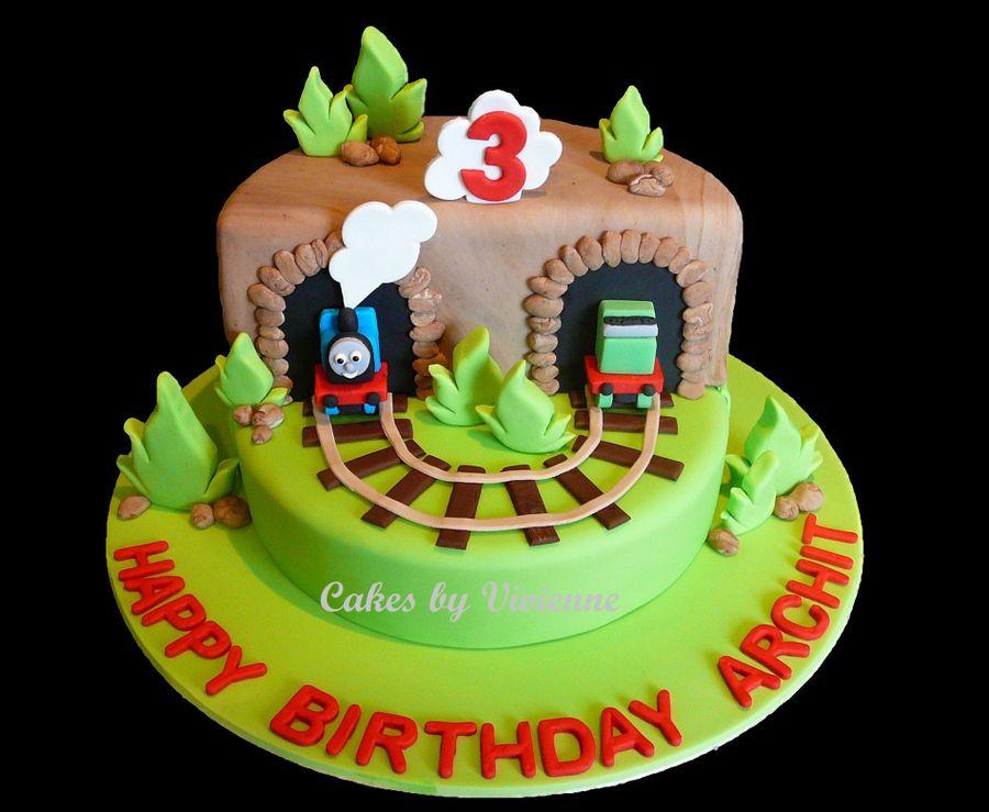 Thomas The Tank Engine Birthday Cake Cakecentral Com