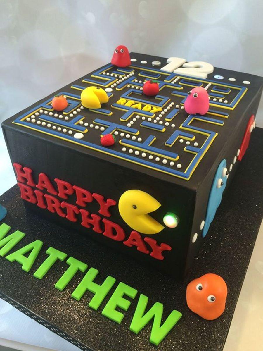 40th Birthday Cake Decorating Ideas