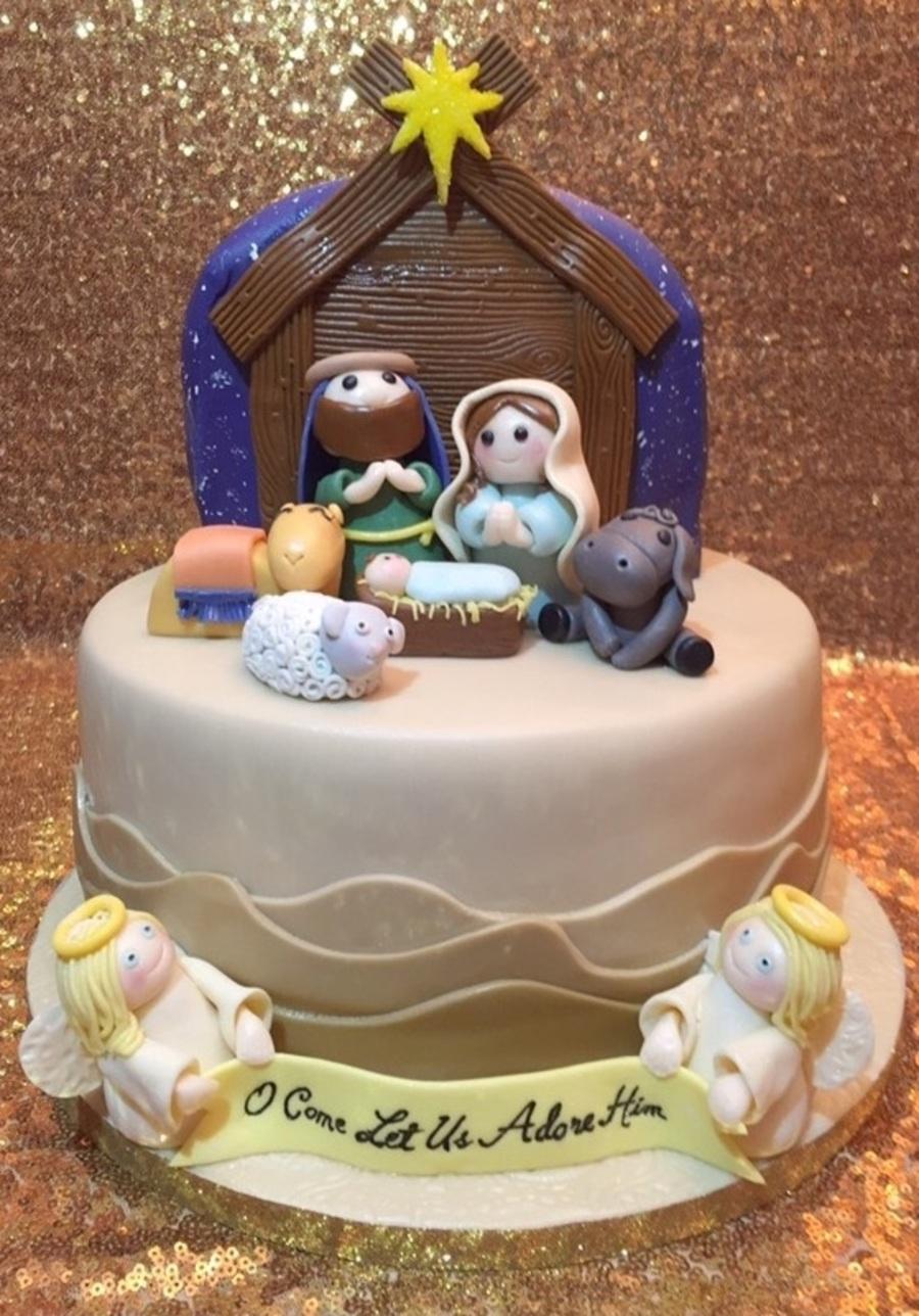 Christmas Nativity Cake Cakecentral Com