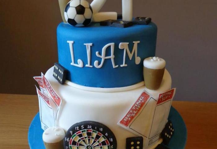 Mans 21st Birthday Cake Cakecentralcom