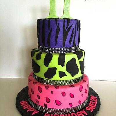 Zebra Print Birthday Cakes Photos