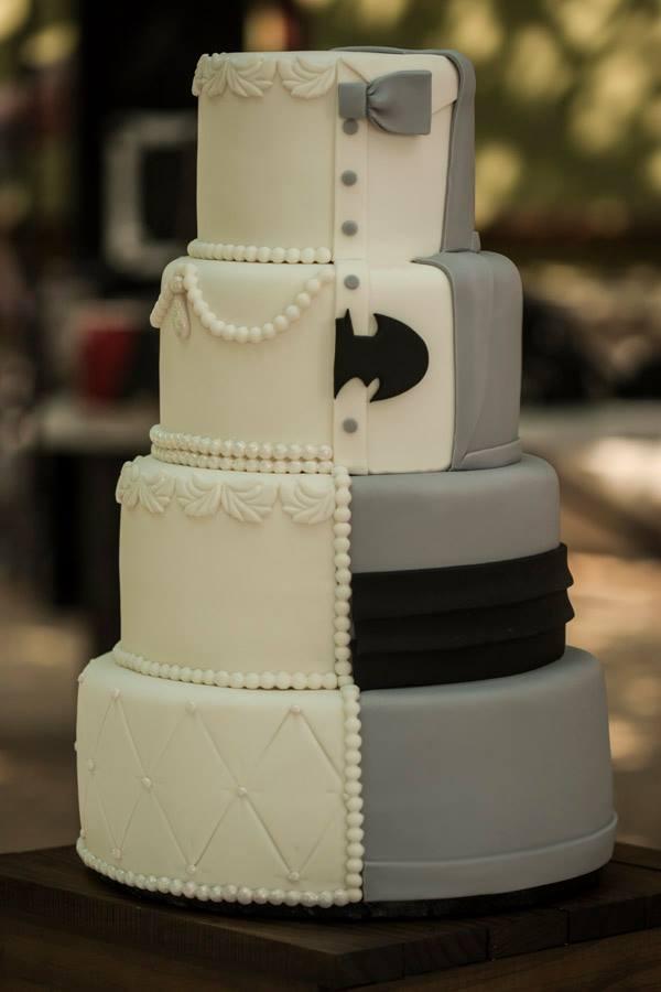 12 Batman Wedding Cake