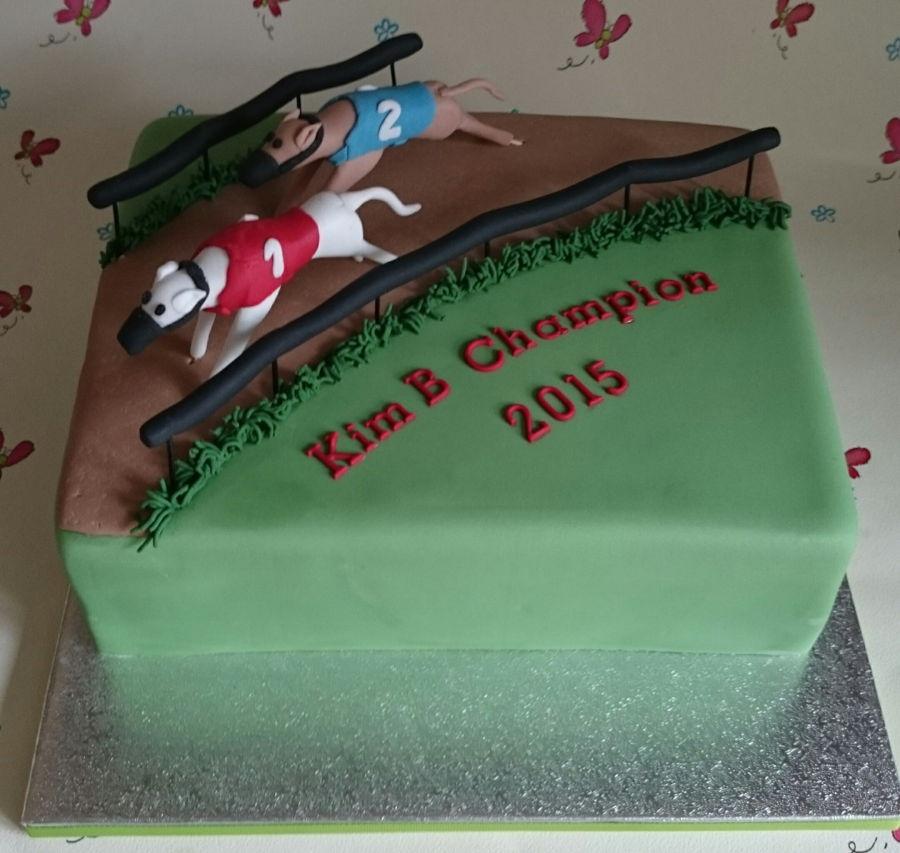 Greyhound Racing Cake Cakecentral Com