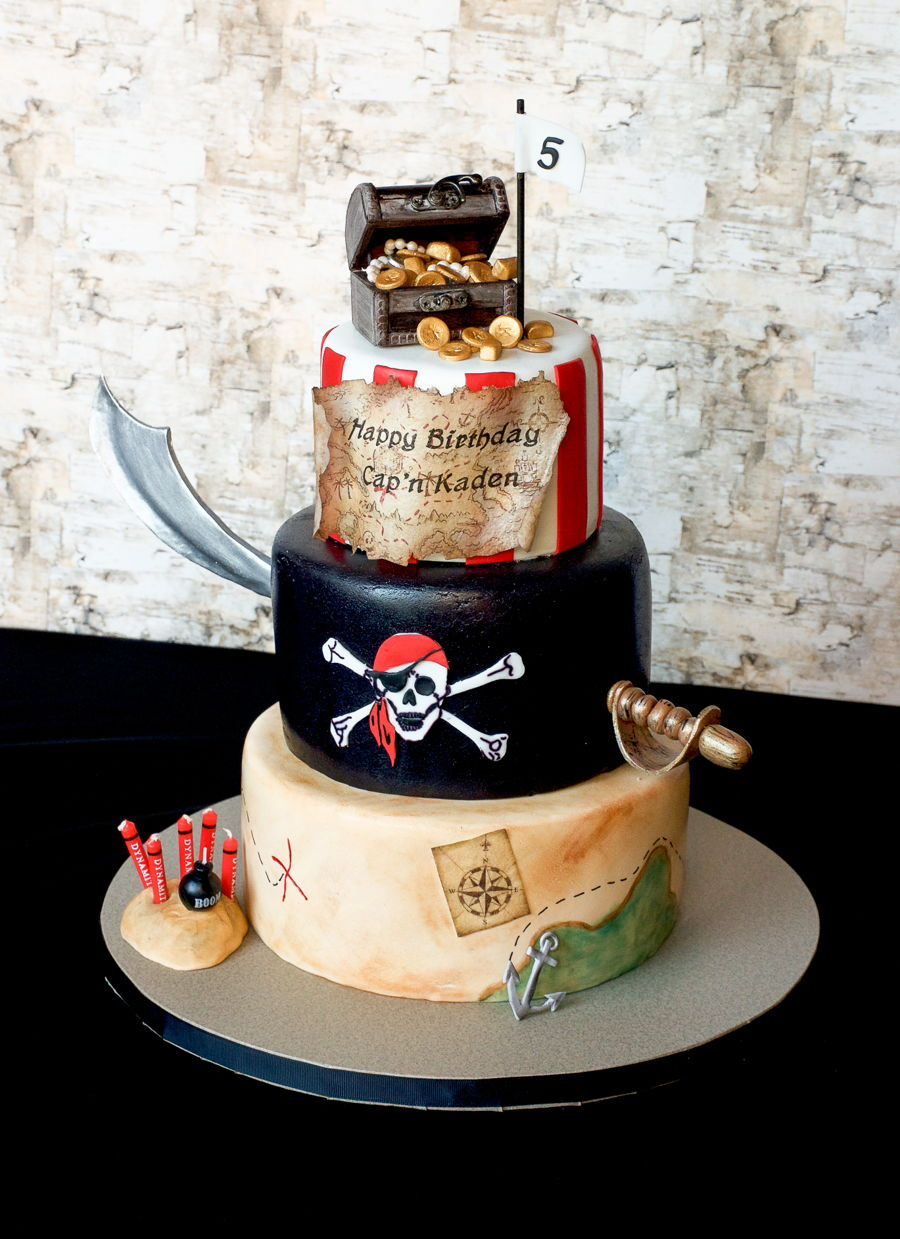 Pirate Birthday Cake Cakecentral Com