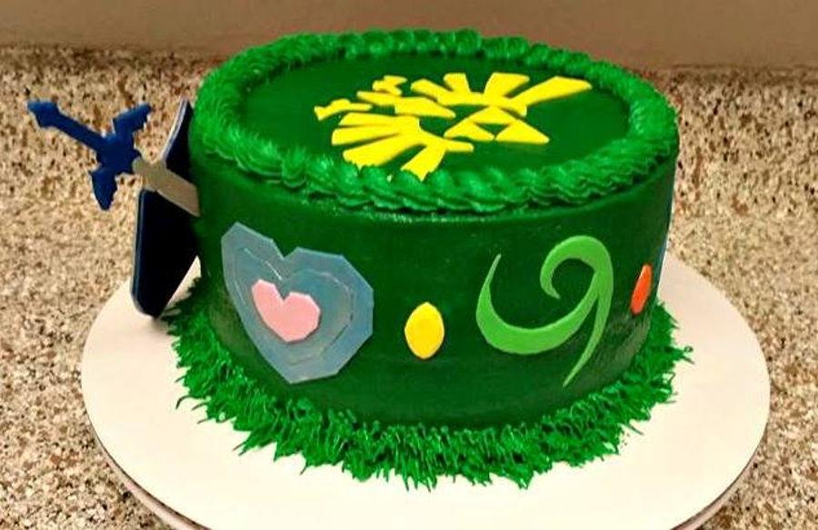 Zelda Cupcake Cake