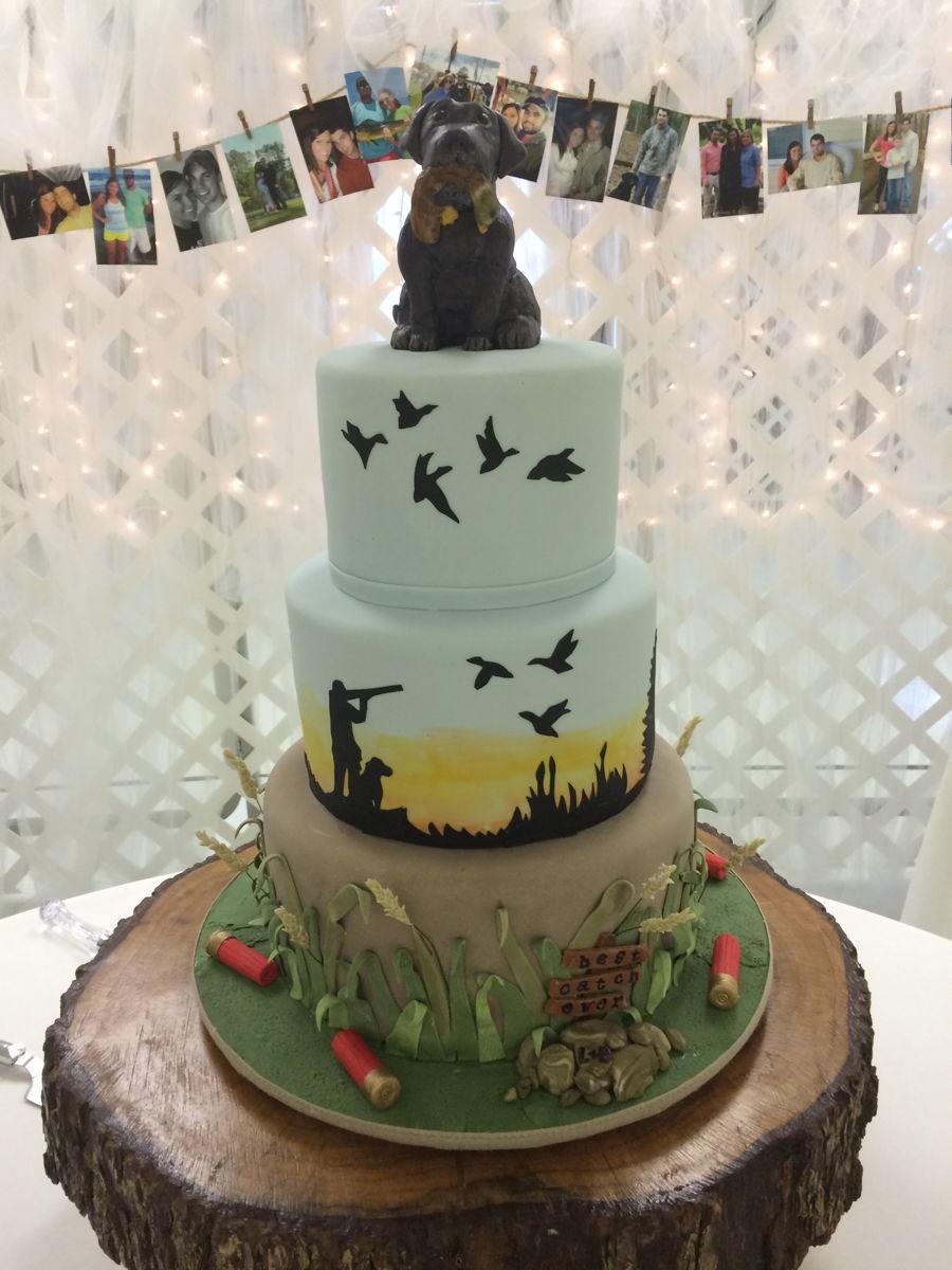 Duck Hunters Grooms Cake