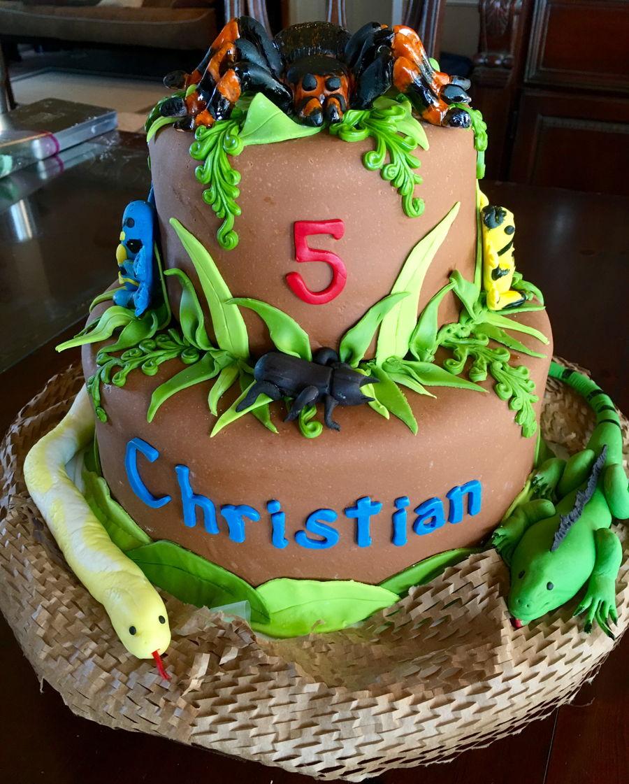 Reptile Rainforest Cake Cakecentral Com