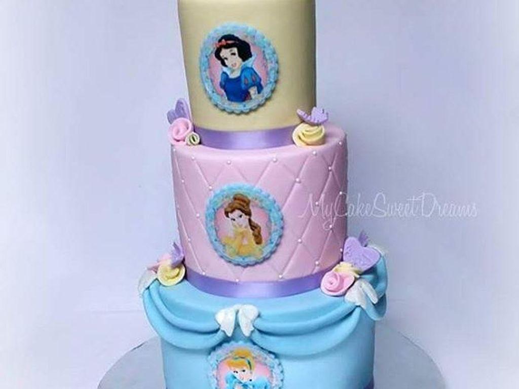 Disney Princess 1st Birthday Cake Cakecentral Com