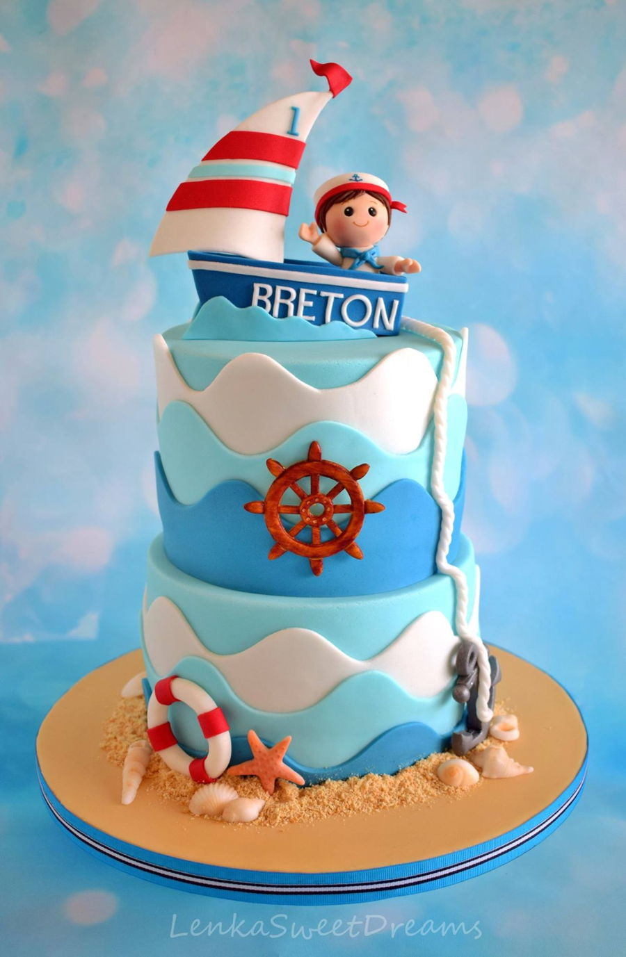 A Cake For A Little Sailor Cakecentral Com