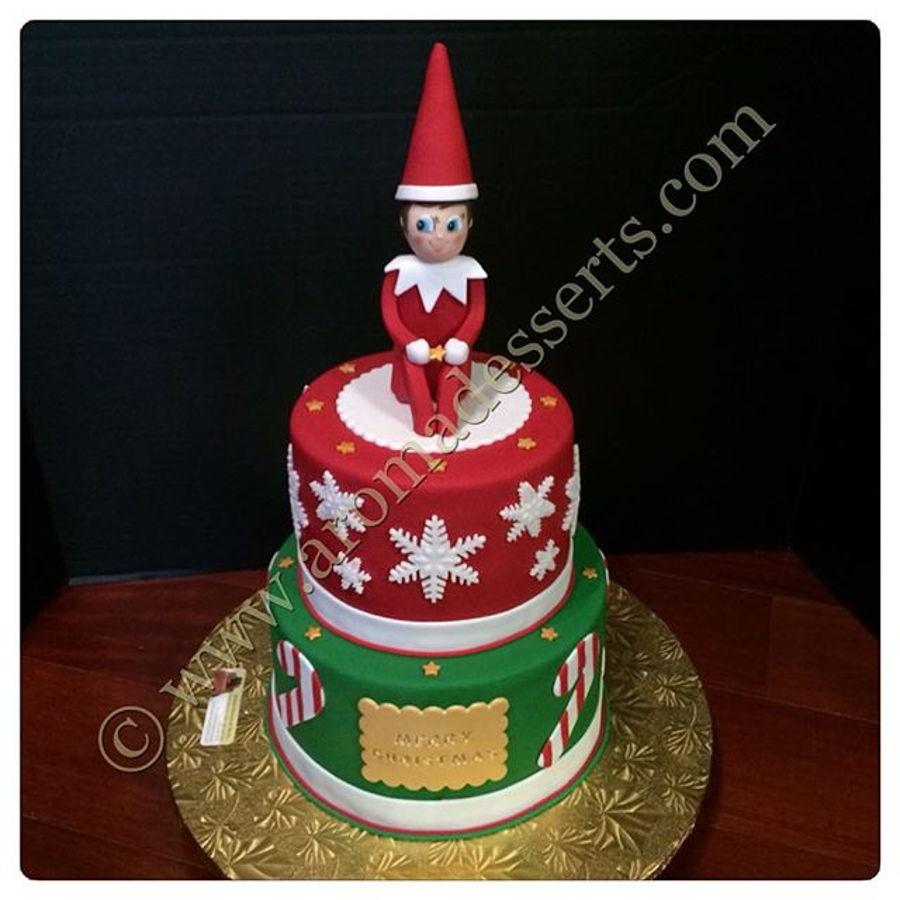 Elf On A Shelf Cake Cakecentral Com