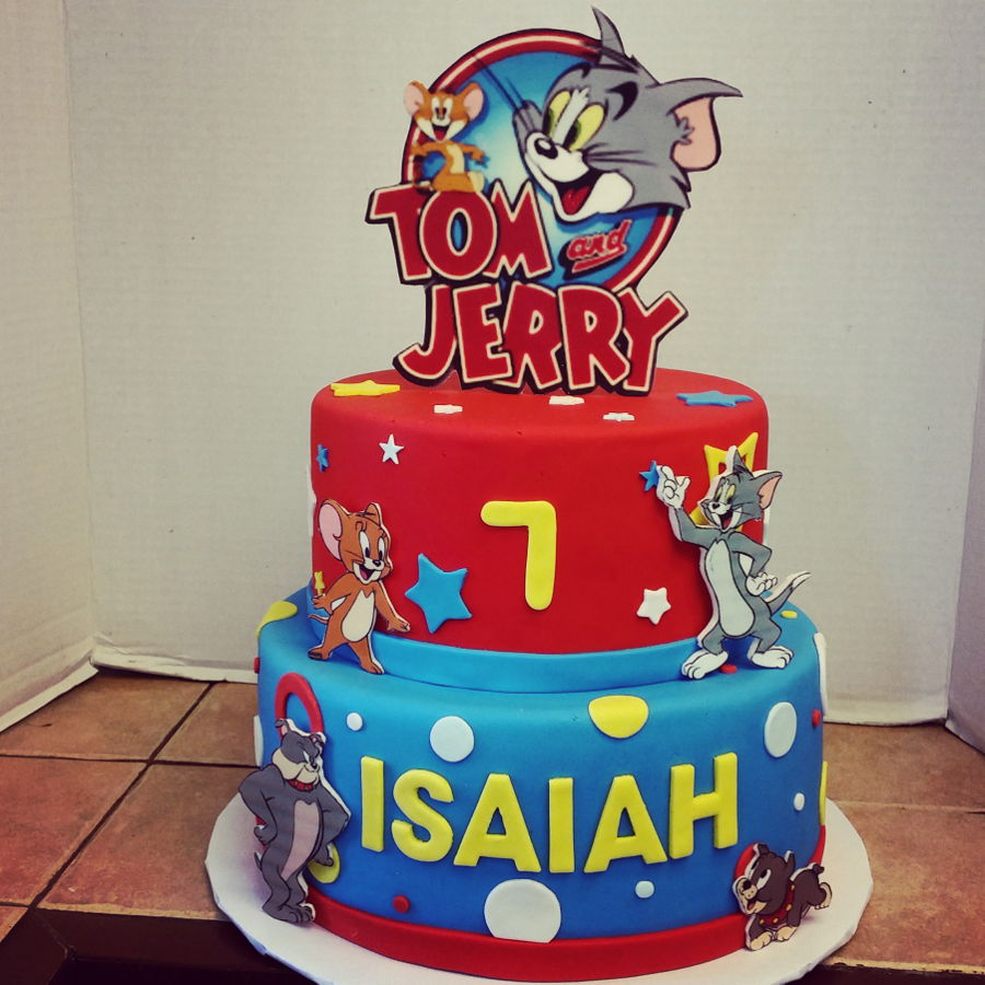 Tom And Jerry Cake Cakecentral Com