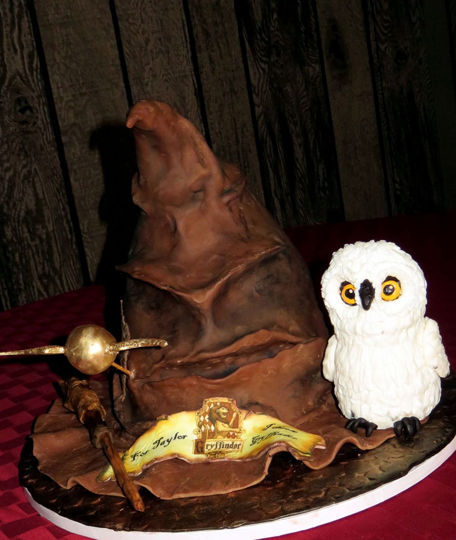 Harry Potter Sorting Hat Birthday Cake Cakecentral Com