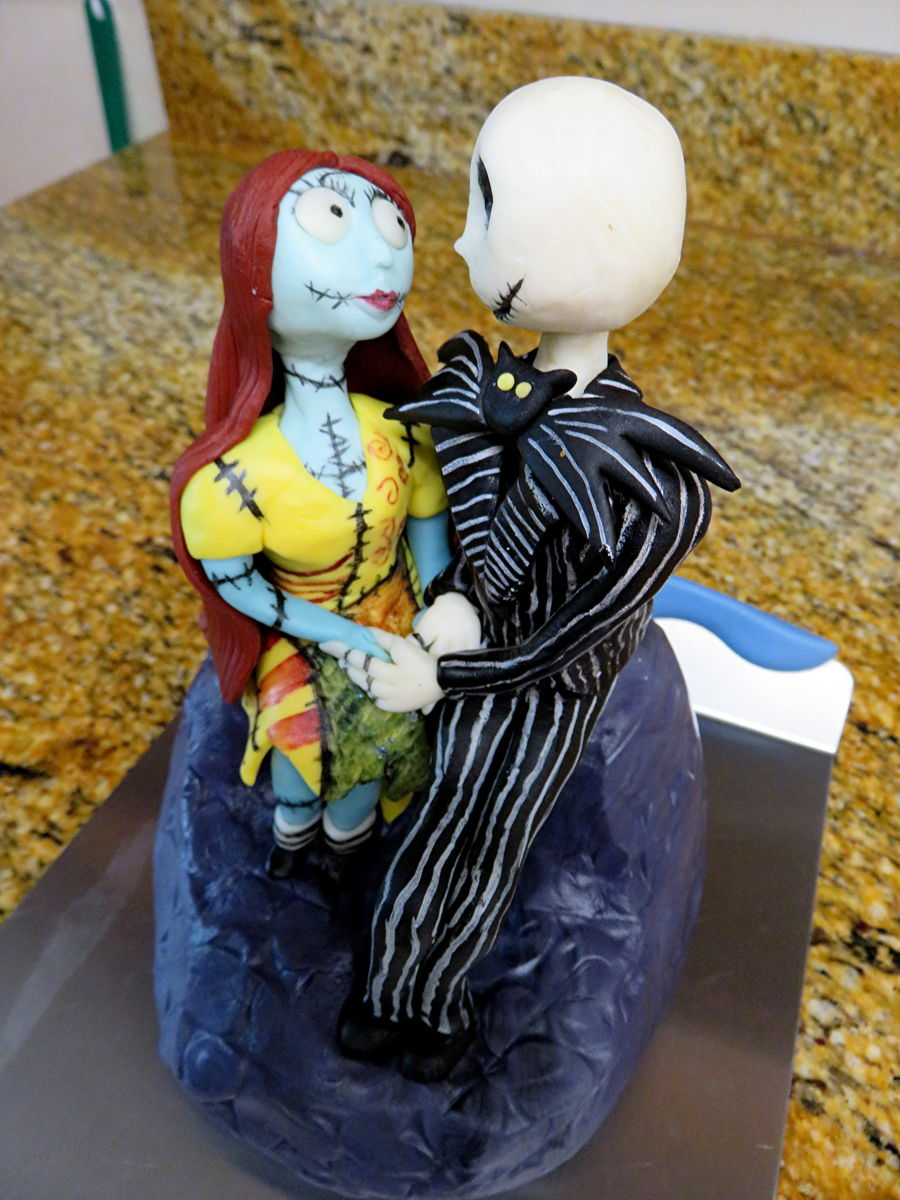 Jack And Sally Cake Topper Cakecentral Com