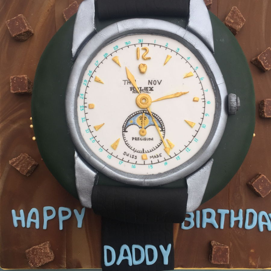 Rolex Watch Cake Cakecentral Com