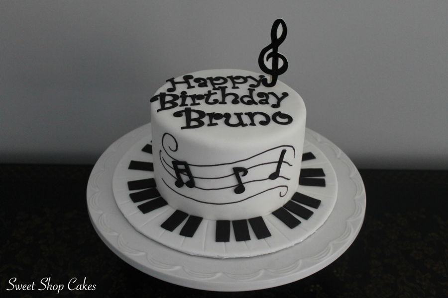 Music Themed Birthday Cake Cakecentral Com