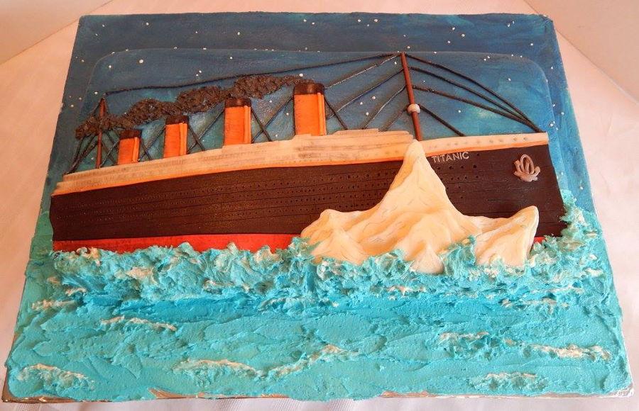 Titanic Cake Cakecentral Com