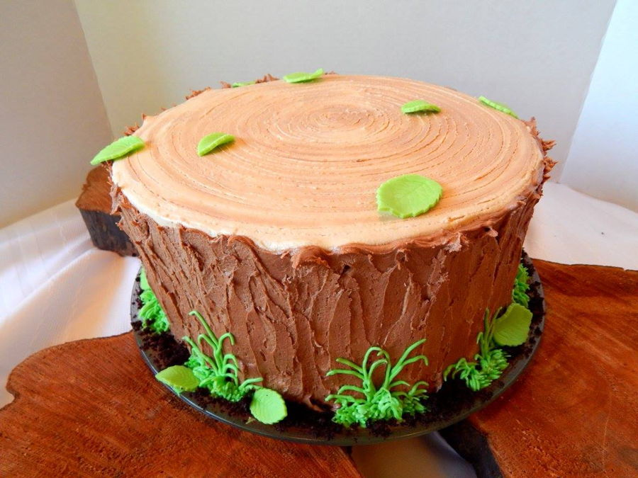 Tree Stump Cake Cakecentral Com
