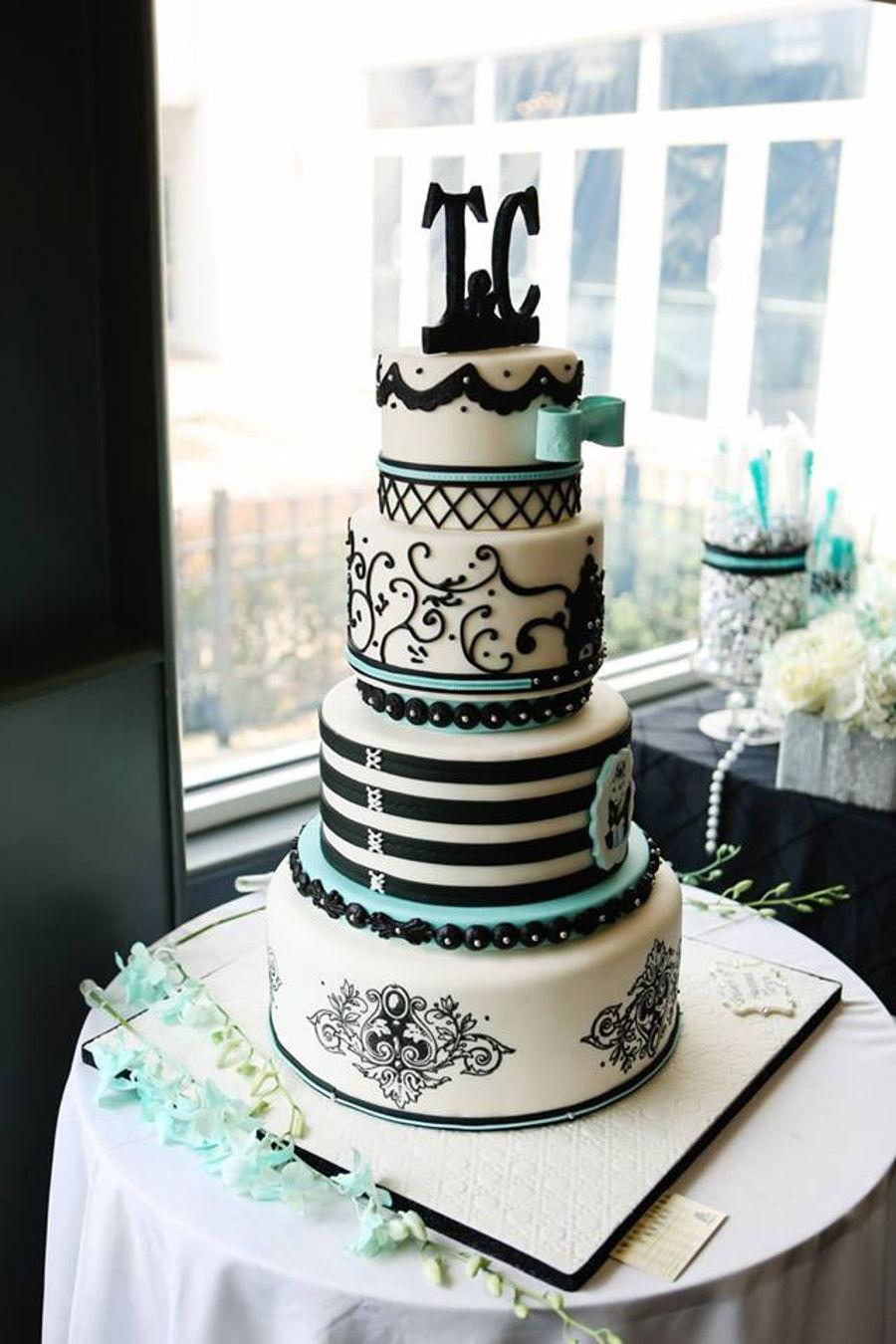 Tiffany Themed Cake
