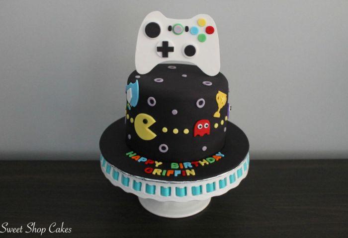 Video Game Birthday Cake Cakecentralcom